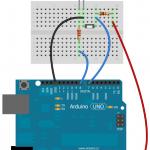 Exemple 1 : DEL et Interrupteur