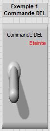 Face avant Exemple1 DEL